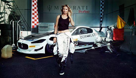 Heidi Klum w kampanii Maserati! (FOTO)