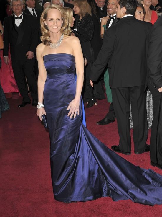 Dlaczego Helen Hunt założyła suknię H&M?