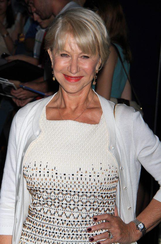 Helen Mirren w kreacji marki Tory Burch