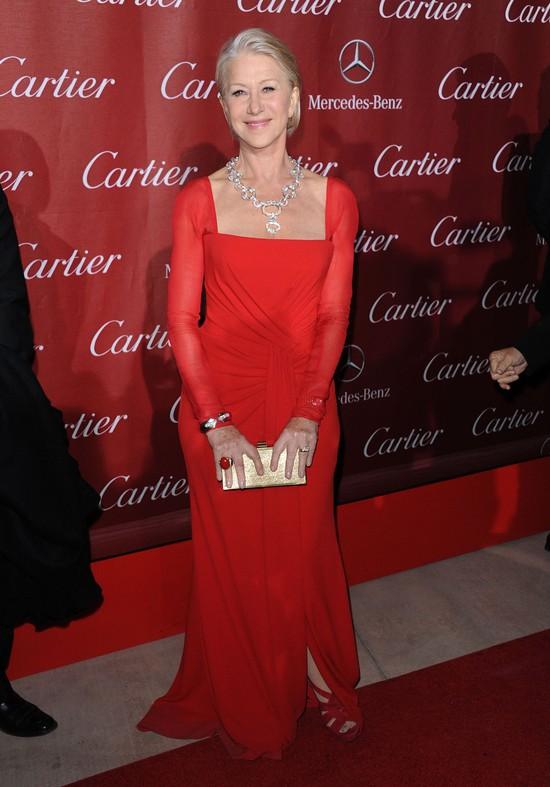 Helen Miren w sukni marki Escada (FOTO)