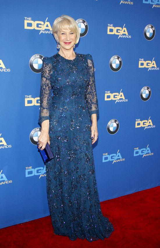Kreacje gwiazd na gali Directors Guild of America Awards - Helen Mirren