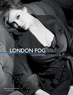 Christina Hendricks dla London Fog