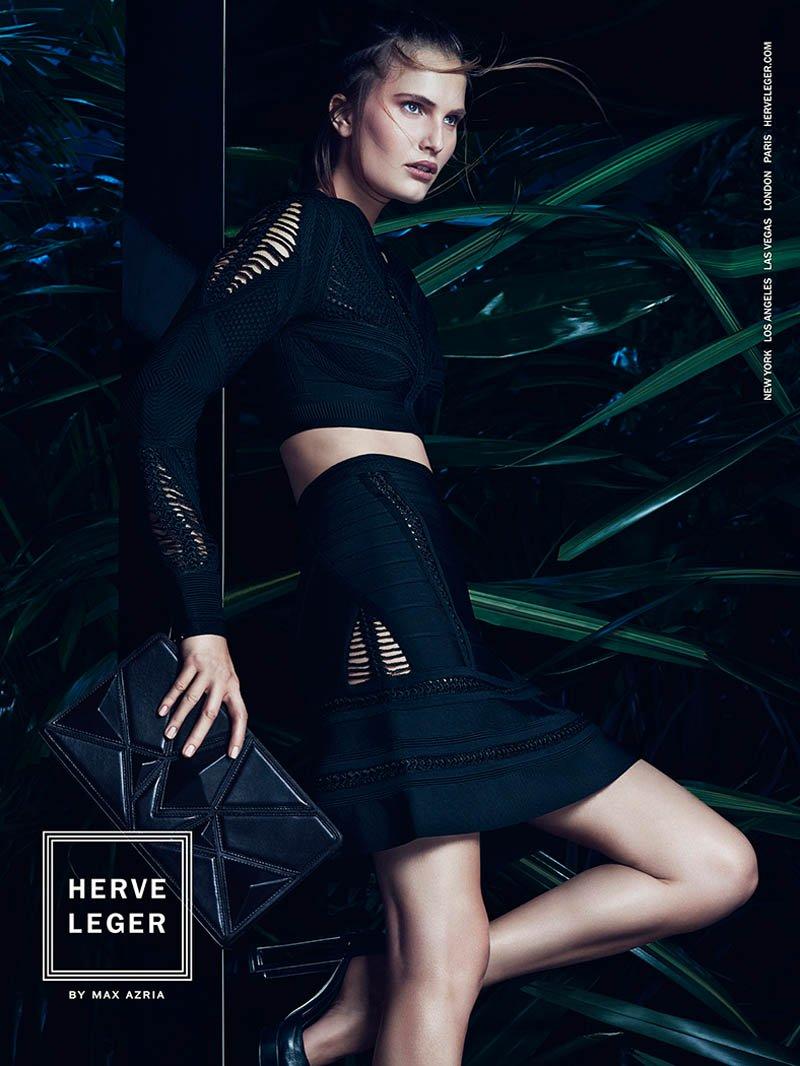 Egzotyczna kampania w wydaniu Herve Leger - wiosna-lato 2014