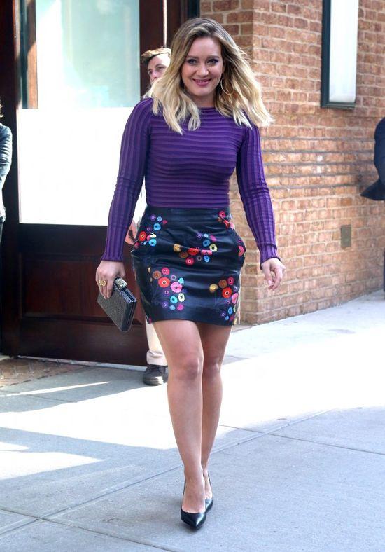 Hilary Duff znowu przytyła? (FOTO)