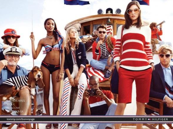 Tommy Hilfiger kampania wiosna-lato 2013