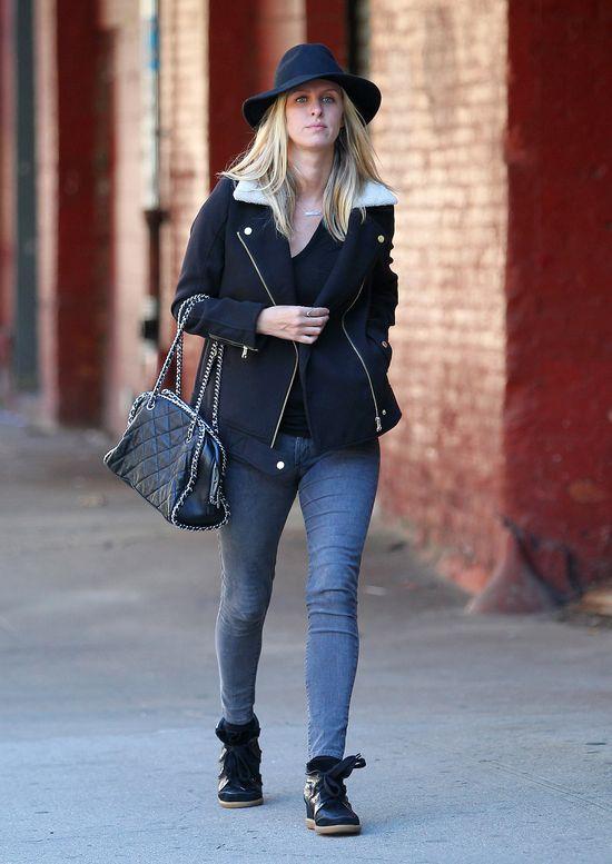 Nicky Hilton w jesiennej stylizacji (FOTO)