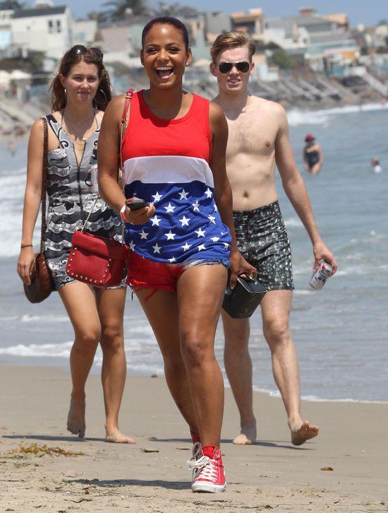 Christina Milian & Paris Hilton swiętują 4. lipca