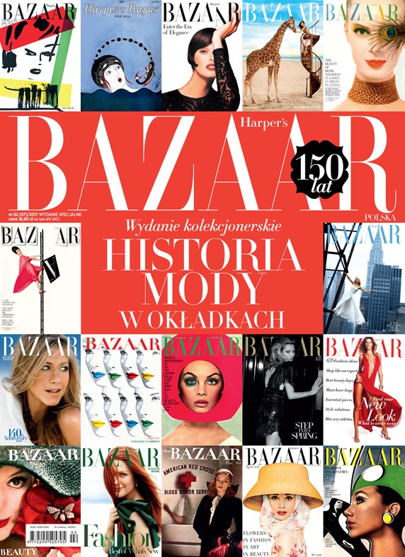 "Harper's Bazaar ""Historia mody w okładkach"