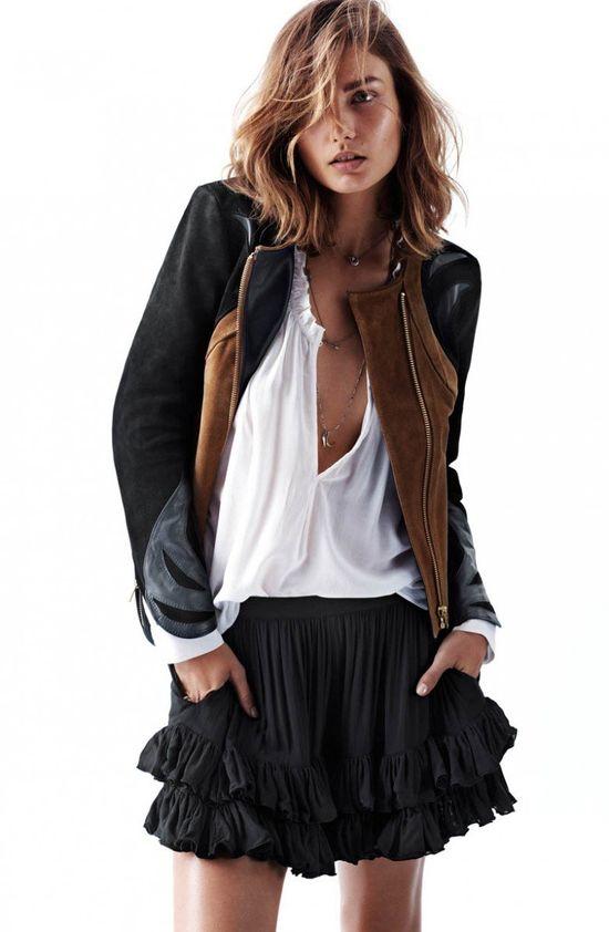 Andreea Diaconu gwiazdą wiosennej kampanii H&M (FOTO)