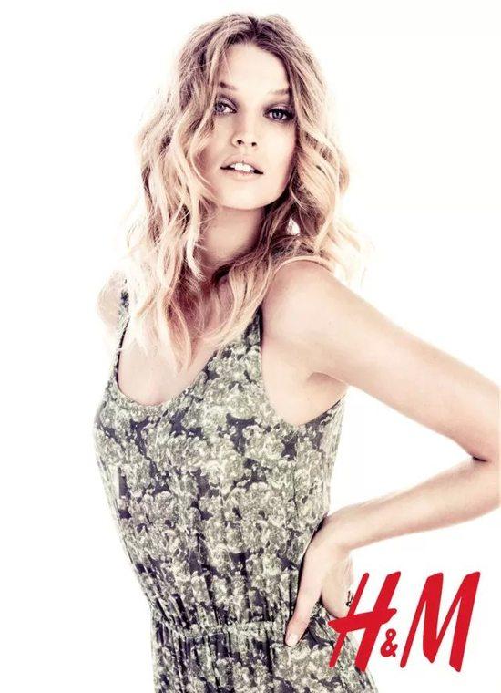 Toni Garrn dla H&M