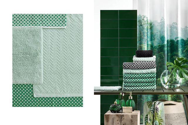 H&M Home Plamy Koloru, czyli nowa kolekcja do łazienki