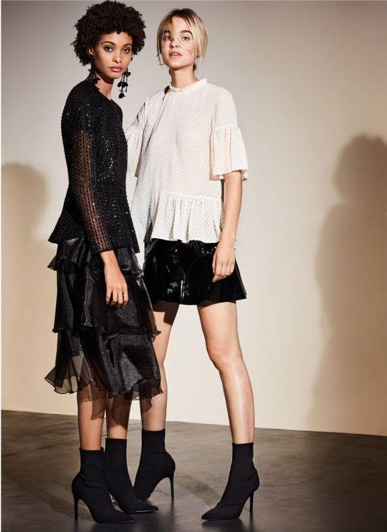 H&M Nocny blask - Mocy, wieczorowy akcent w modzie na zimę 2017