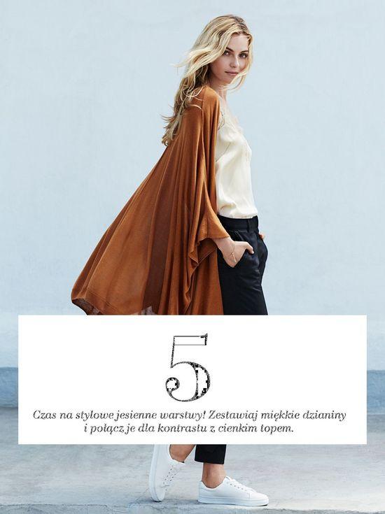 H&M Stylowy Niezbednik - Te rzeczy na jesień musi mieć
