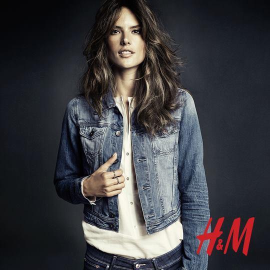 Alessandra Ambrosio w kampanii H&M Denim jesień 2013