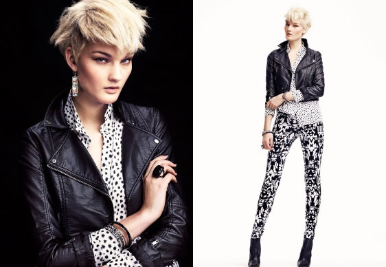 Black&White od H&M na sezon jesień-zima 2012/2013