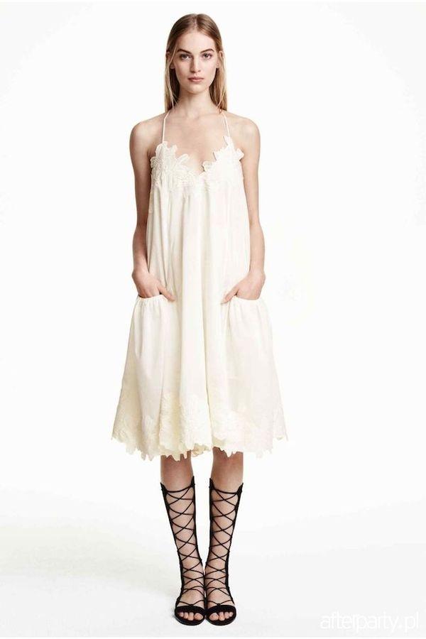 Sara Boruc w białej sukience z popularnej sieciówki (FOTO)