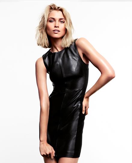 Czarno-białe esy floresy od H&M