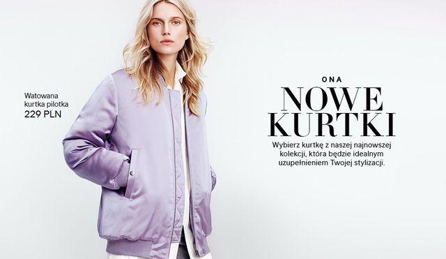 H&M Nowe Kurtki - Nowa minikolekcja na wiosnę (FOTO)