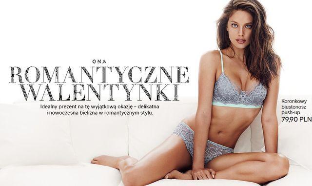 Bielizna H&M - Romantycze Walentynki (FOTO)