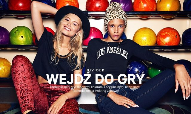 H&M Divided - Wejdź do gry! (FOTO)