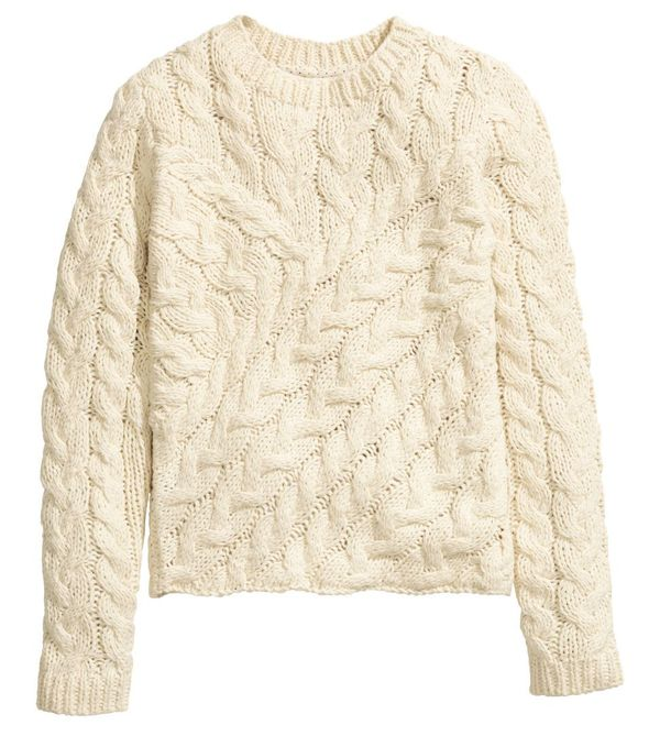 Jesienny przegląd oversize'owych swetrów - H&M i Zara (FOTO)