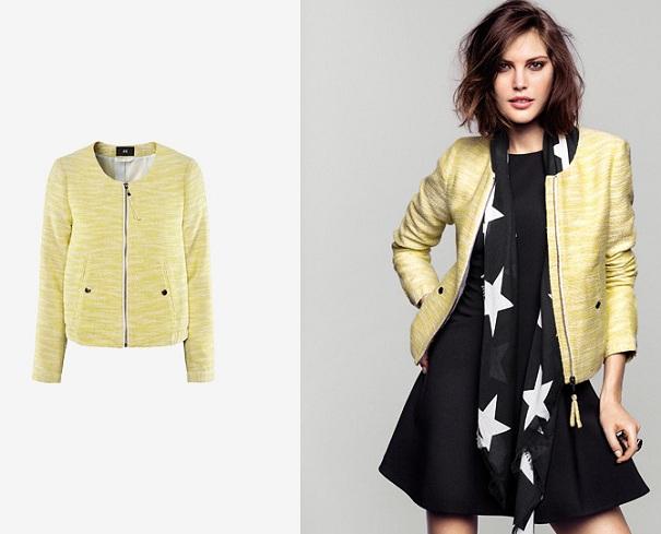 Wiosenne kurtki od H&M