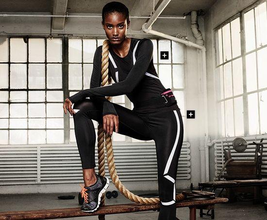 H&M kolekcja sportowa jesień 2013