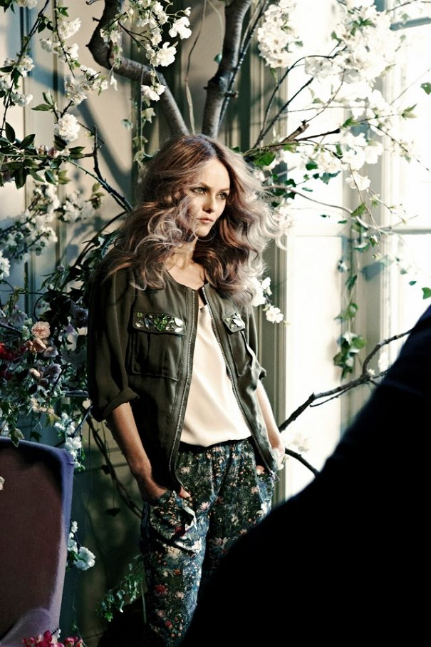 Vanessa Paradis nową twarzą H&M Conscious Collection