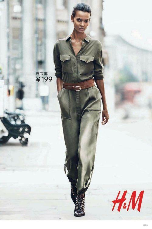Jesienne nowości od H&M zaprazentowe przez znane modelki