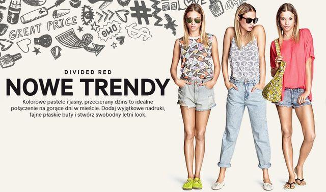 H&M Divided Red - Nowe młodzieżowe trendy na lato! (FOTO)