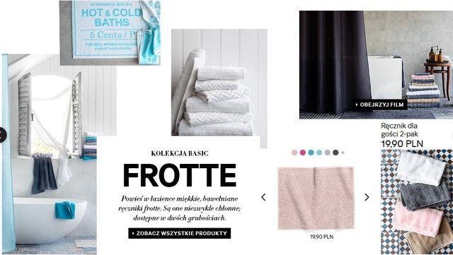H&M Home - Kolekcja basic: Frotte (FOTO)