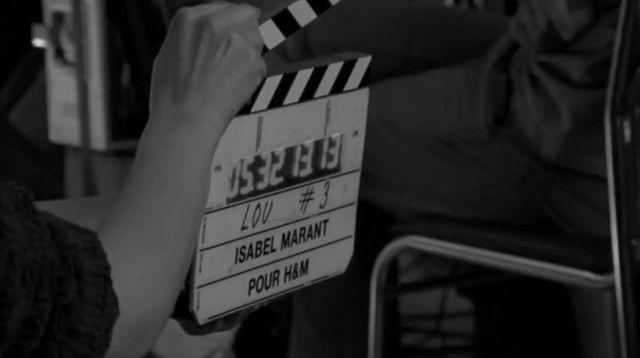Marant dl H&M backstage