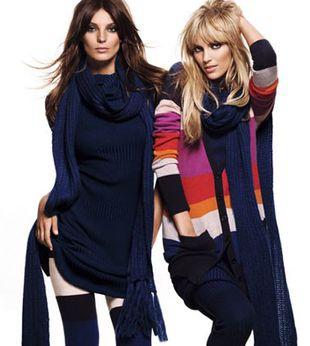 Anja Rubik i Daria Werbowy dla H&M