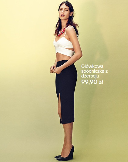 H&M kolorowy miks lato 2013