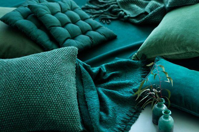 H&M Home Graj w zielone - Modne dodatki w odcieniach zieleni