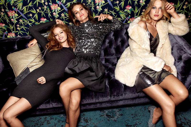 H&M W blasku świateł - Wieczorowy, imprezowy klimat na zimę 2016