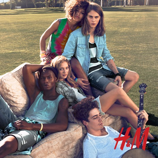 Festiwalowy look od H&M
