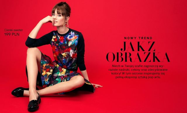 Nowa kolekcja H&M - Jak z obrazka (FOTO)