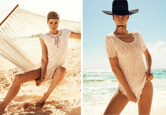 Letni look w stylu Brigitte Bardot