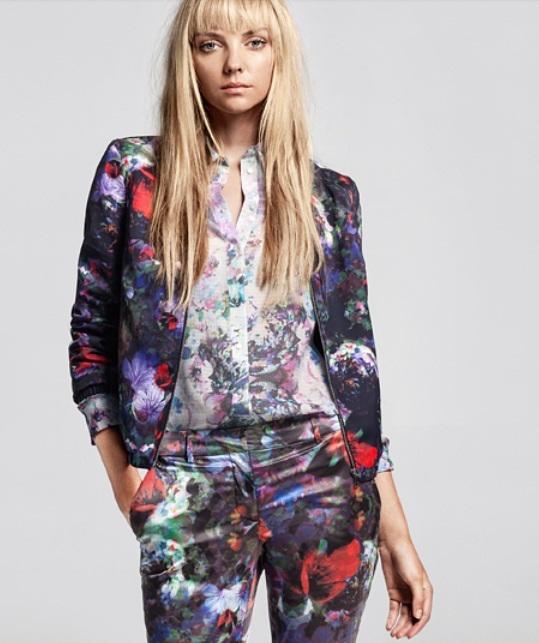 Kolorowy look na jesień 2012 od H&M