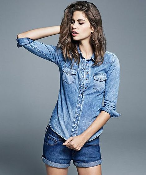 H&M wiosenny blues - jeansowa kolekcja