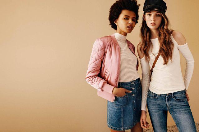 H&M Dziewczęcy świat - Moda w stylu lat 90. na jesień 2016