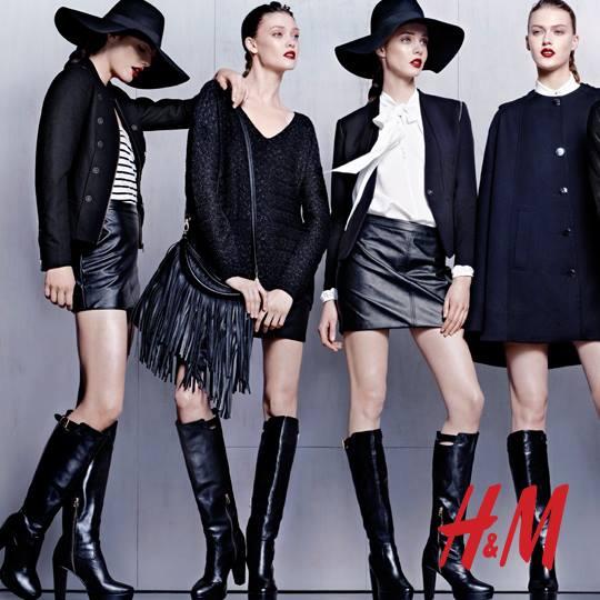 H&M nowa kampania jesień-zima 2013/14
