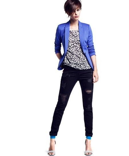 H&M modny duet:  graficzne wzory i kobalt