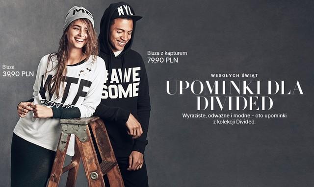 H&M: Świąteczne upominki z kolekcji Divided (FOTO)