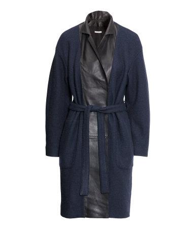 W niebieskich odcieniach - Przegląd jesiennych płaszczy