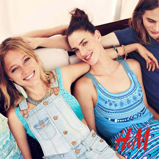 H&M kolekcja party lato 2013