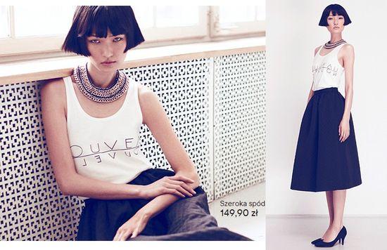 Wang Xiao w najnowszej kampanii H&M