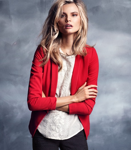 Magdalena Frąckowiak w kolejnej sesji dla H&M