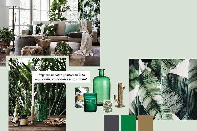 H&M Home Zieleń i kolory ziemi - Wystój wnętrz na wiosnę